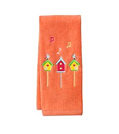 LivingQuarters Bird House Hand Towel