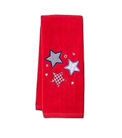 LivingQuarters Stars Hand Towel
