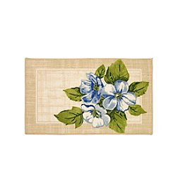Essential Elements Three Flowers Accent Rug