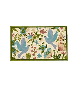 Essential Elements Floral Birds Accent Rug