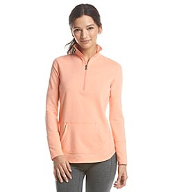 Exertek® Petites' Solid Half Zip Pull Over