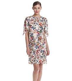 AGB® Floral Patterned Shift Dress
