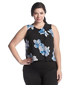 Calvin Klein Plus Size Floral Print Cami