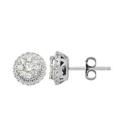 .50 ct. t.w. Diamond Earrings in 10K White Gold
