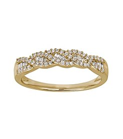 .25ct t.w. Diamond Ring in 10K Yellow Gold