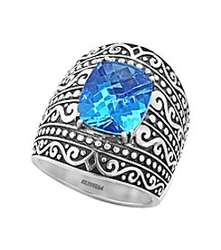 Effy® 925 Sterling Silver Blue Topaz Ring