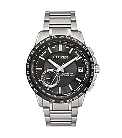 Citizen® Men's Satellite Wave-World Time GPS Bracelet Watch