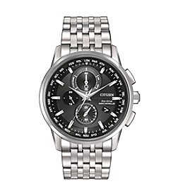 Citizen® Men's World Chronograph A-T Bracelet Watch