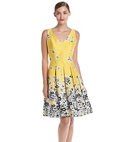 Nine West® Floral Pleated Dress
