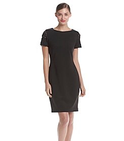 Tommy Hilfiger® Scuba Shift Dress