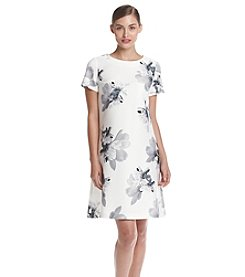 Tommy Hilfiger® Scuba Floral Shift Dress