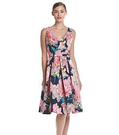 Eliza J® Floral Fit And Flare Party Dress