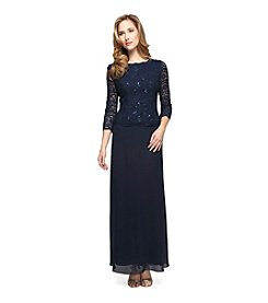 Alex Evenings® Lace And Sequin Dress