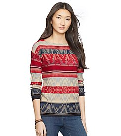 Lauren Jeans Co.® Cotton Knit Sweater