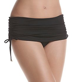 Calvin Klein Side Shirred Swim Skirt