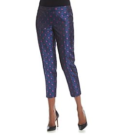 Anne Klein® Printed Jacquard Pants