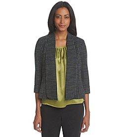 Kasper® Jacquard Cardigan Jacket