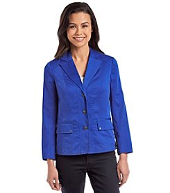 Laura Ashley® Petites' Button Front Jacket