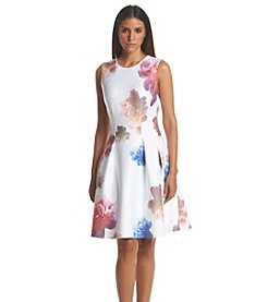 Calvin Klein Floral Midi Dress