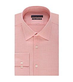 Geoffrey Beene® Men's Fitted Print Spread Collar Dress Shirt