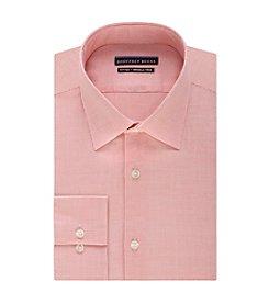 Geoffrey Beene® Men's Fitted Print Spread Collar Dress Shirt
