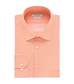 Van Heusen® Men's Regular Fit Check Print Spread Collar Dress Shirt