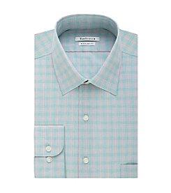 Van Heusen® Men's Regular Fit Check Print Spread Collar Dress Shirt
