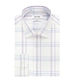 Calvin Klein Regular Fit Men's Spread Collar Dress Shirt