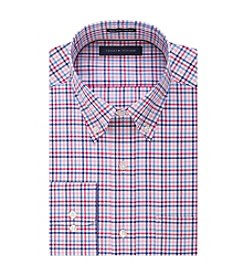 Tommy Hilfiger® Men's Regular Fit Check Print Button Down Collar Dress Shirt