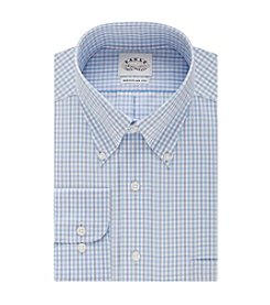 Eagle® Men's Regular Fit Check Print Dress Shirt