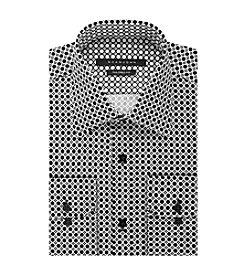 Sean John® Men's Regular Fit Printed Spread Collar Dress Shirt