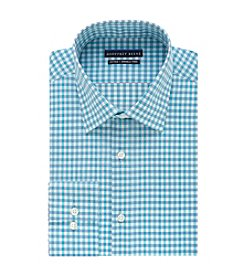 Geoffrey Beene® Men's Fitted Check Pattern Dress Shirt