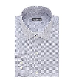 Kenneth Cole REACTION® Men's Slim Fit Dot Pattern Dress Shirt