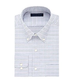 Tommy Hilfiger® Men's Regular Fit Multi-Check Pattern Dress Shirt