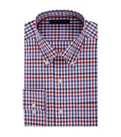 Tommy Hilfiger® Men's Regular Fit Check Pattern Dress Shirt