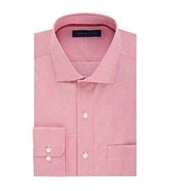 Tommy Hilfiger® Men's Regular Fit Mini Check Pattern Dress Shirt