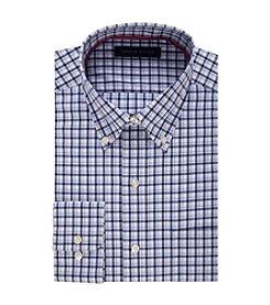 Tommy Hilfiger® Men's Regular Fit Check Pattern Dress Shirt