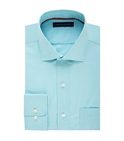 Tommy Hilfiger® Men's Regular Fit Mini Check Pattern Dress Shirt