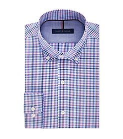 Tommy Hilfiger® Men's Slim Fit Check Pattern Dress Shirt