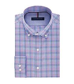Tommy Hilfiger® Men's Slim Fit Check Pattern Dress Shirt