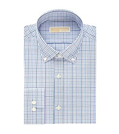 MICHAEL Michael Kors® Men's Regular Fit Grid Pattern Dress Shirt