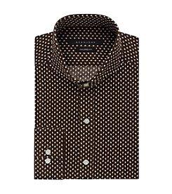 Sean John® Men's Regular Fit Printed Dress Shirt