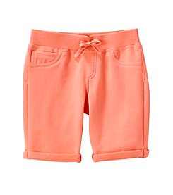 Miss Attitude Girls' 7-16 Ribbed Bermuda Shorts