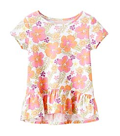 Mix & Match Girls' 4-6X Peplum Tee