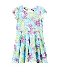 Little Miss Attitude Girls' 4-6X Bow Back Dress