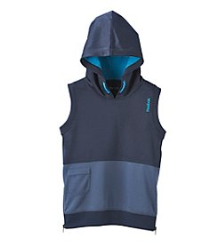 Reebok® Boys' 8-20 Knit Hooded Sleeveless Tee