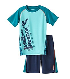 Reebok® Boys' 2T-7 2 Piece Graphic Set