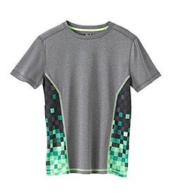 Mambo® Boys' 4-20 Short Sleeve Printed Sides Tee