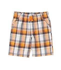 mix&MATCH Boys' 2T-7 Pull On Plaid Shorts