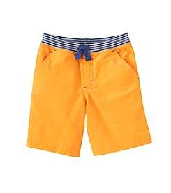 Mix & Match Boys' 2T-7 Knit Flat Front Shorts
